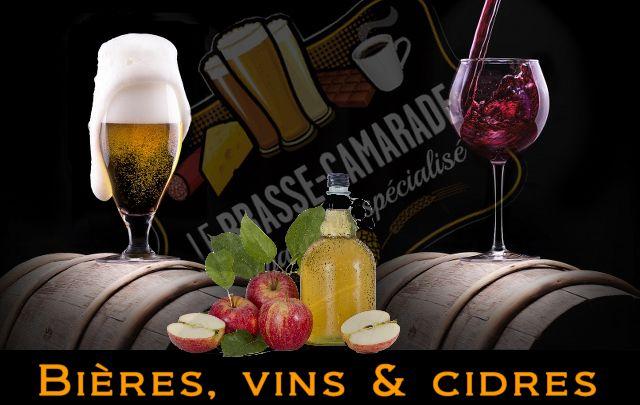 Image: Biere vin et cidre