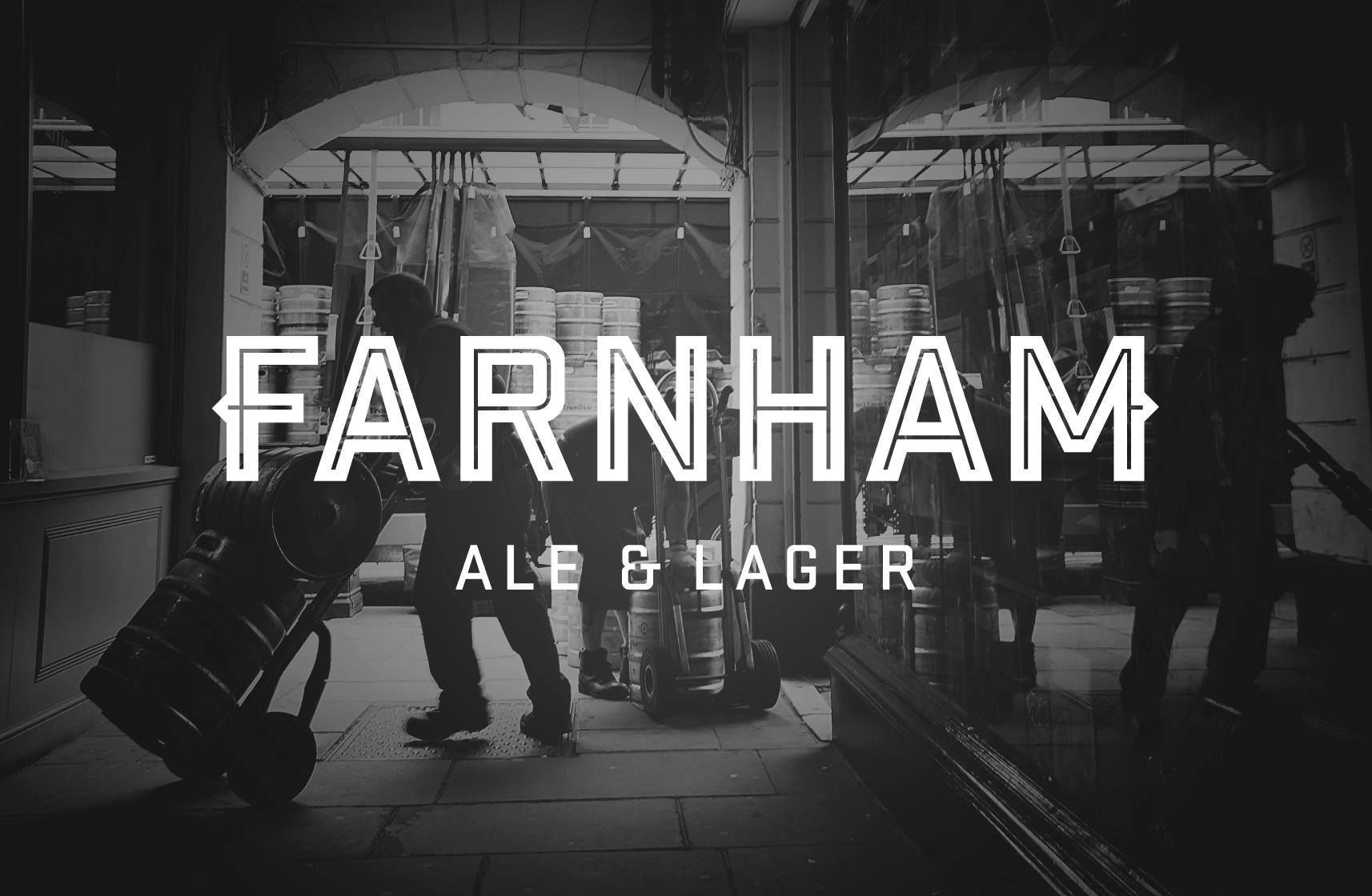 Image: Logo Farnham Ale & Lager